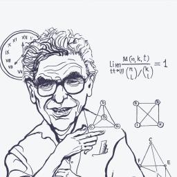 Пол Ердеш - видатний угорський математик єврейського походження, відомий своєю ексцентричністю та неймовірною продуктивністю
